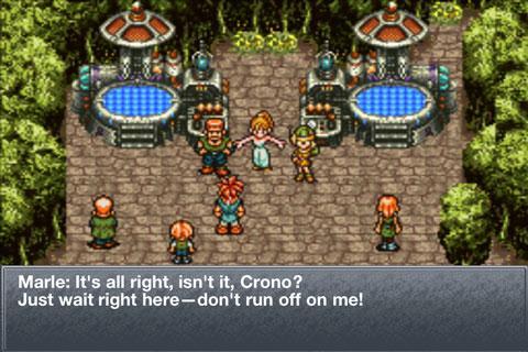 Chrono Trigger Dialogue
