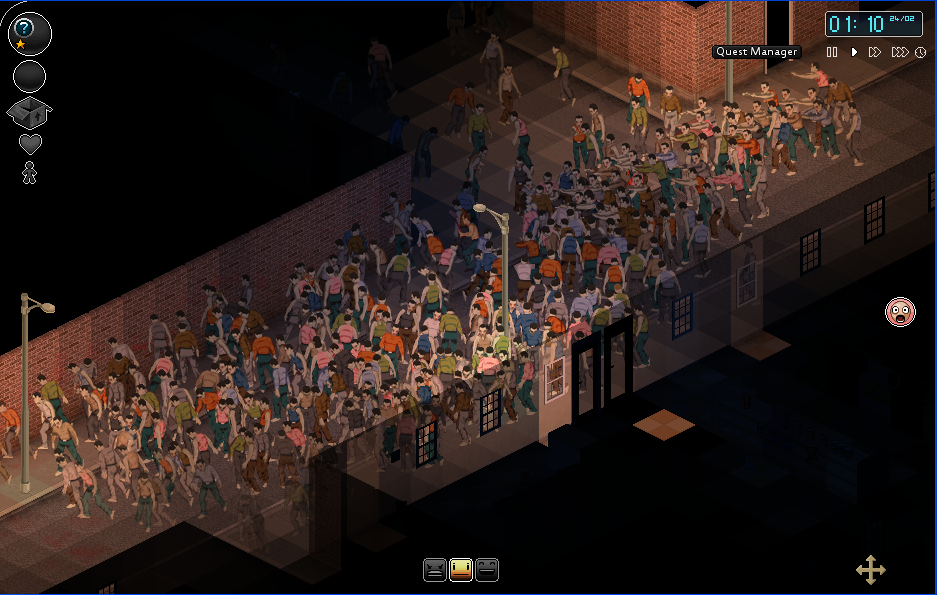 Project Zomboid Massive Zombie Horde