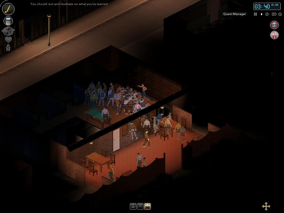 Project Zomboid Fending For Yourself in a Bar