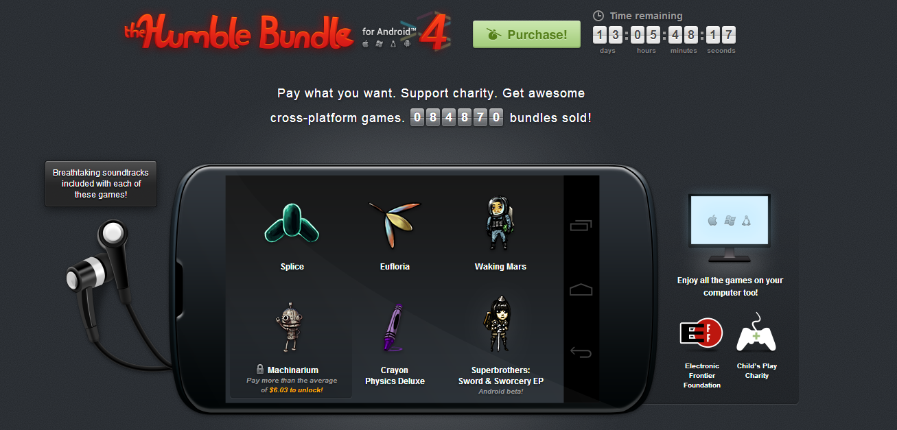 The Humble Bundle For Android 4