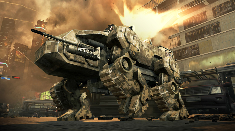 Black Ops II Campaign Future Weaponry - Claw
