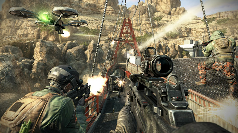 Call of Duty Black Ops II Single Player Campaign Turbine Bridge Closed