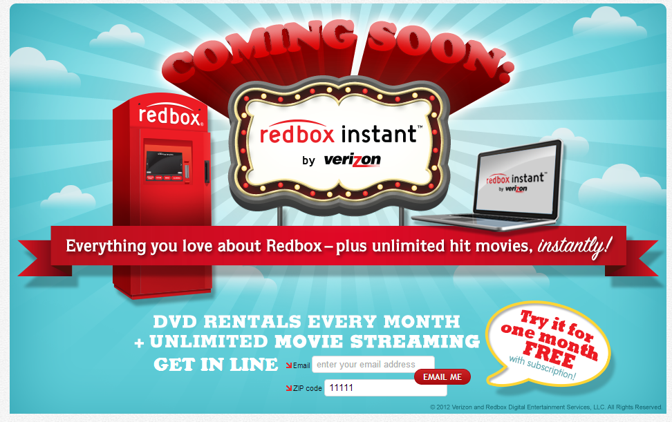 Try Out Redbox Instant by Verizon