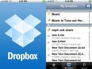 Dropbox App For iPhone
