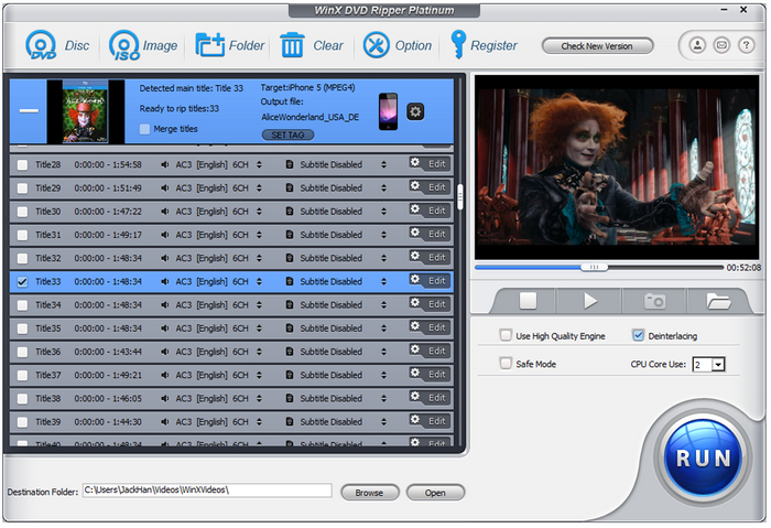 WinX DVD Ripper Platinum: Backup Your DVDs in 5 Minutes
