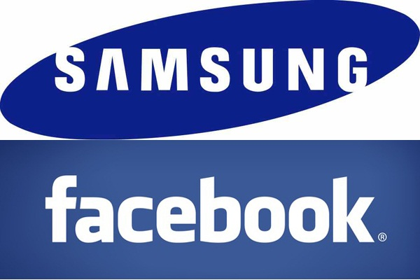 Facebook and Samsung